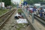 Một cụ ông thiệt mạng vì băng qua đường sắt