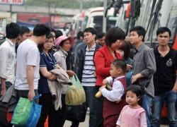 Hà Nội tăng hàng nghìn lượt xe khách mỗi ngày trong dịp Tết