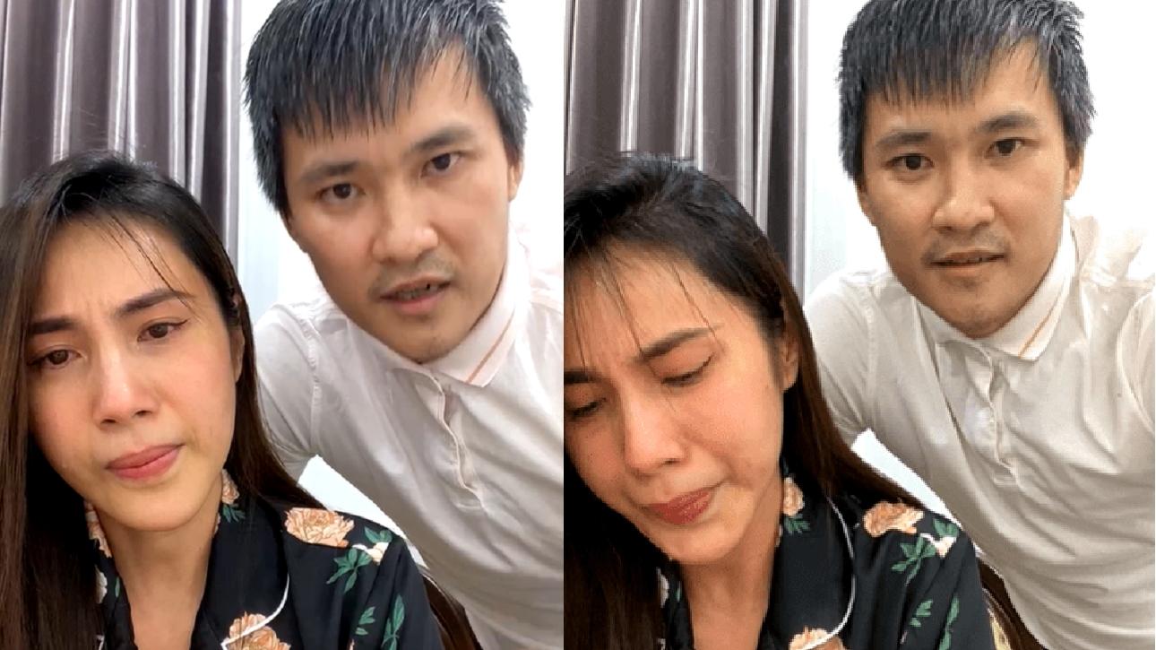 """Thủy Tiên bật khóc nức nở trong livestream khi bị nghi """"ăn chặn"""" tiền từ thiện"""