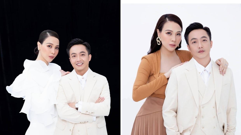 """Cường Đôla và Đàm Thu Trang và khung ảnh thời trang """"sang chảnh"""""""