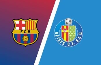 Link xem trực tiếp Barcelona vs Gatafe (VĐQG Tây Ban Nha), 03h ngày 23/4