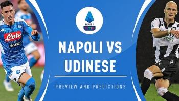 Xem trực tiếp Napoli vs Udinese ở đâu?