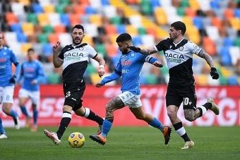 Link xem trực tiếp Napoli vs Udinese (Serie A), 01h45 ngày 12/5