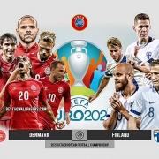 Link xem trực tiếp Đan Mạch vs Phần Lan (vòng 1 Euro 2021), 23h00 ngày 12/6