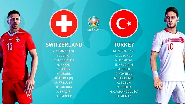 Euro 2020: Xem trực tiếp Thụy Sỹ vs Thổ Nhĩ Kỳ ở đâu?