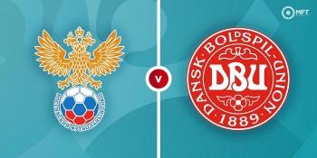 Euro 2020: Xem trực tiếp Nga vs Đan Mạch ở đâu?