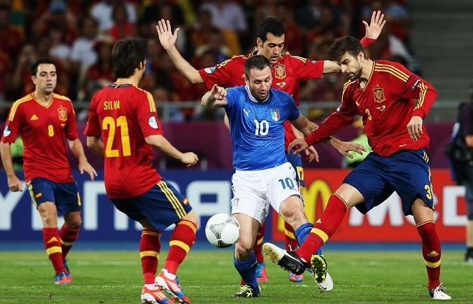 Euro 2020: Xem trực tiếp Ý vs Tây Ban Nha ở đâu?