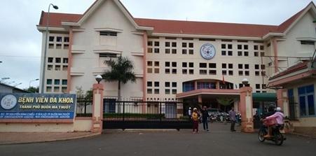 Bệnh viện Đa khoa TP Buôn Ma Thuột tạm dừng nhận bệnh nhân