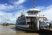 TP HCM: Tiếp tục tạm dừng hoạt động bến phà Cần Giờ - Cần Giuộc