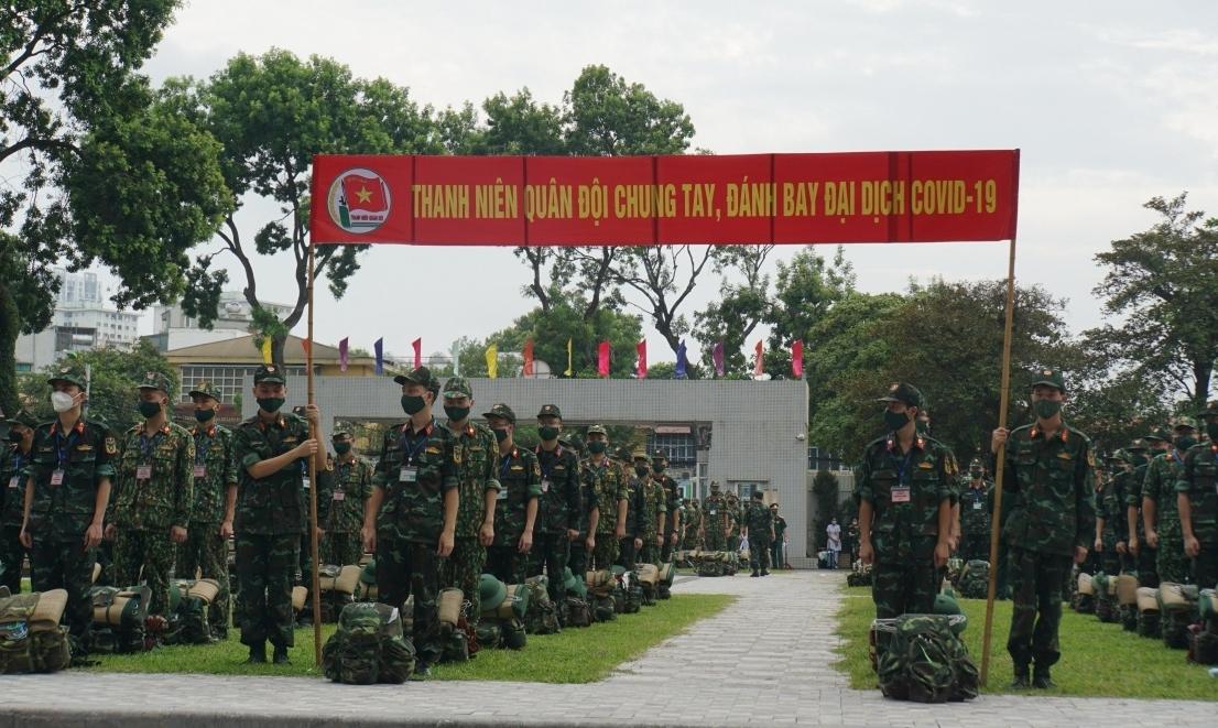 Học viện Quân y xuất quân tăng cường lực lượng tại TP HCM và các tỉnh phía nam