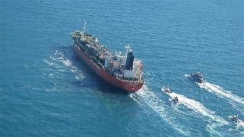 Hàn Quốc, Mỹ yêu cầu Iran thả tàu chở dầu bị bắt ở eo biển Hormuz
