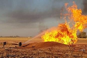 Máy bay không người lái tấn công cơ sở dầu khí gần biên giới Syria-Thổ Nhĩ Kỳ