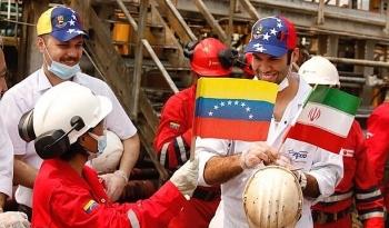 Rất nhiều tàu chở dầu của Iran đang tiến vào cảng của Venezuela