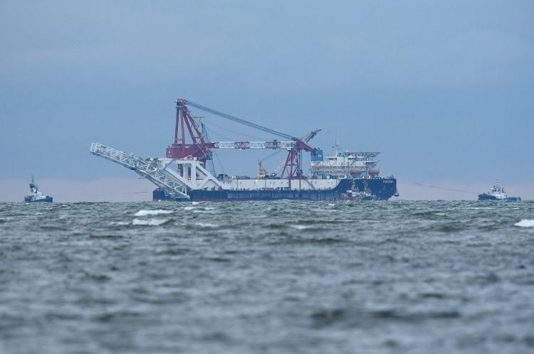 Mỹ trừng phạt tàu đặt đường ống Nord Stream 2 của Nga