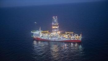 Thổ Nhĩ Kỳ hoàn tất hoạt động khoan tại Biển Đen sau 77 ngày