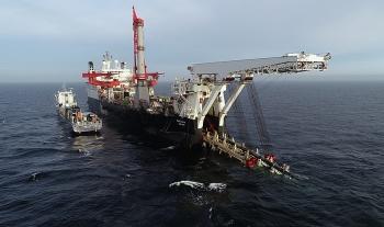 Nord Stream 2 trong lãnh hải Đan Mạch dự kiến hoàn thành vào tháng 4