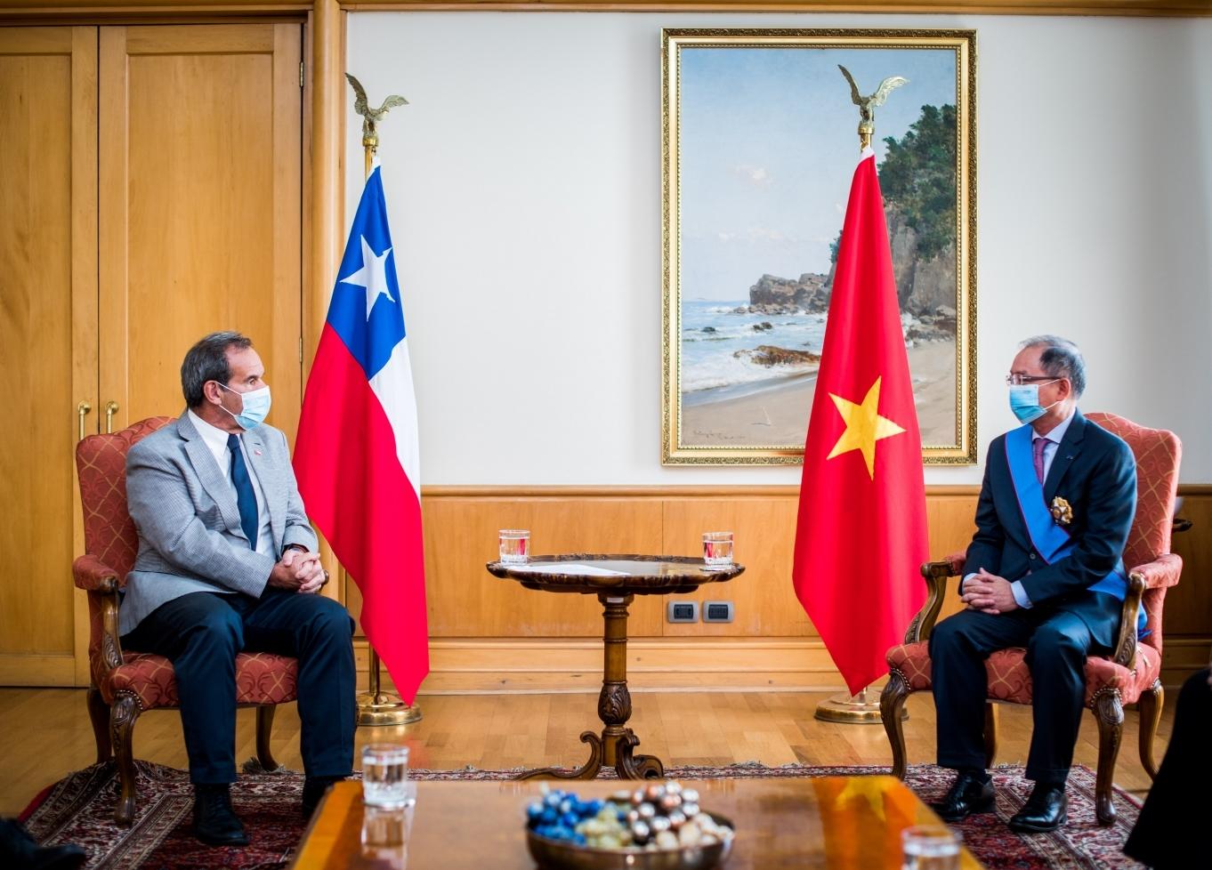 Kỷ niệm 50 năm Ngày thiết lập quan hệ Ngoại giao Việt Nam - Chile