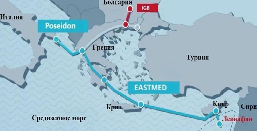 Ý nghĩa to lớn của sự ra đời đường ống dẫn khí EastMed trong 5 năm tới