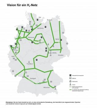 Đức lên kế hoạch xây dựng hệ thống ống dẫn khí hydro lớn nhất thế giới