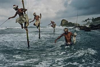 Nghệ thuật câu cá có một không hai của người dân miền đảo
