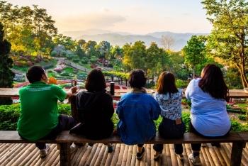 Sắc màu miền núi Doi Tung