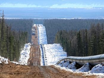 Gazprom tăng cường xuất khẩu khí đốt sang Trung Quốc qua đường ống dẫn khí Power of Siberia