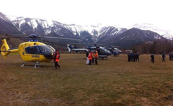 Hãng hàng không Germanwings ra thông cáo về vụ máy bay rơi