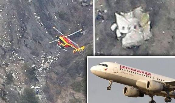 Máy bay rơi ở Pháp: Những manh mối đầu tiên