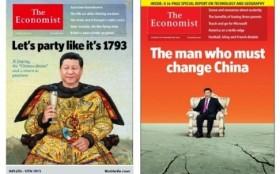 chu tich trung quoc tap can binh duoc khoac ao can long tren bia the economist