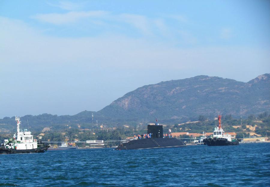 Trung Quốc đặt hệ thống phát hiện tàu ngầm Kilo của Việt Nam?