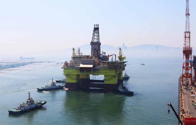 Trung Quốc nhận giàn khoan hiện đại hơn Hải Dương 981