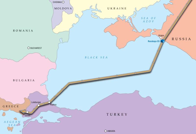 gazprom sap khoi cong xay dung turkish stream