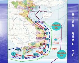 Đường cơ sở theo Luật Biển Việt Nam
