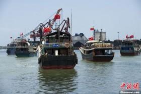 Hàng nghìn tàu cá Trung Quốc tràn ra Biển Đông
