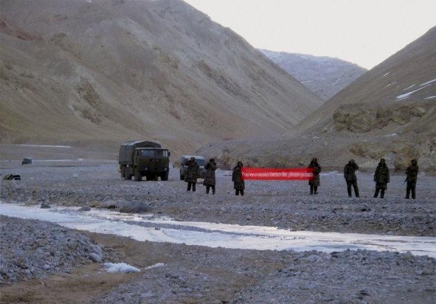 Quân đội Trung Quốc xâm nhập lãnh thổ Ấn Độ?