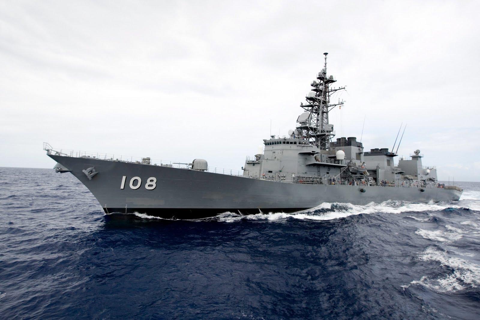 Nhộn nhịp tàu chiến Nhật, Mỹ đến Manila