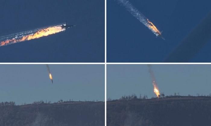 video may bay nga bi ban roi gan bien gioi syria