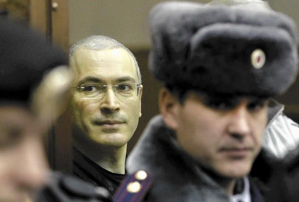 Cựu trùm dầu mỏ Khodorkovsky sắp được ân xá