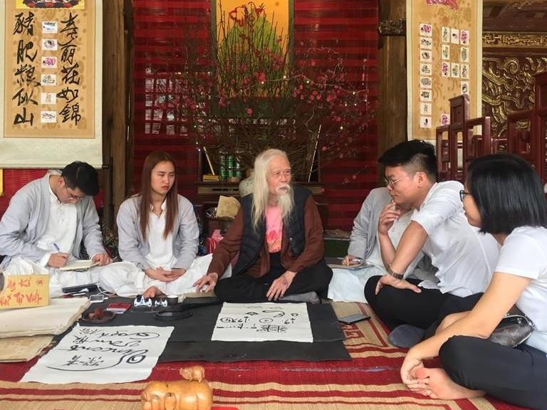 Hà Nội: Hội chữ xuân Kỷ Hợi 2019