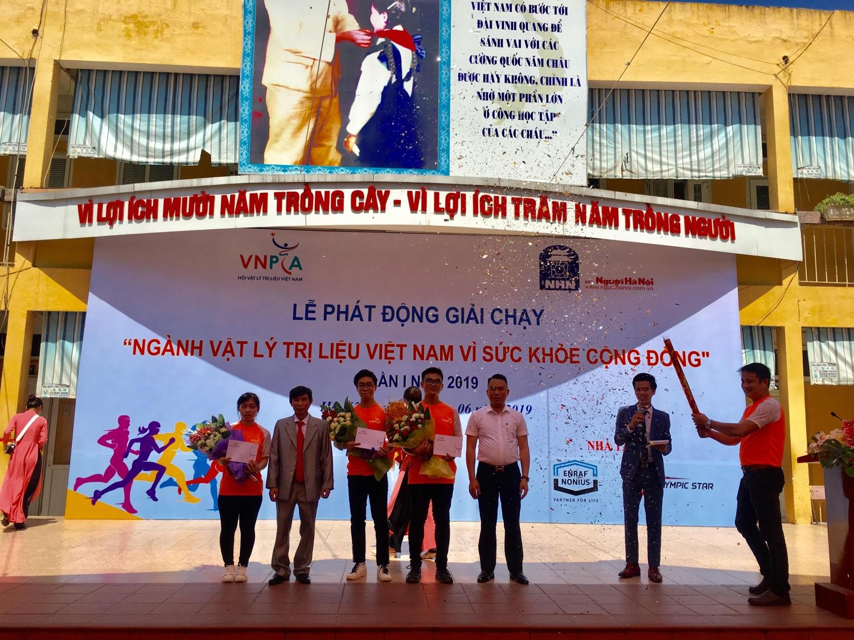 phat dong giai chay nganh vat ly tri lieu viet nam vi suc khoe cong dong lan i nam 2019