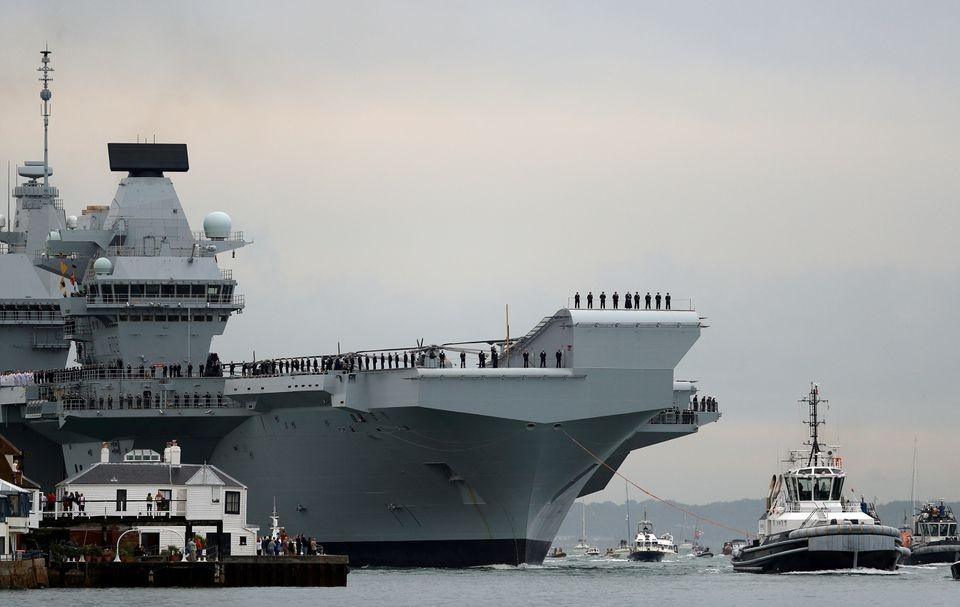 """Anh và Mỹ cam kết """"tự do hàng hải"""" tại Ấn Độ Dương - Thái Bình Dương"""