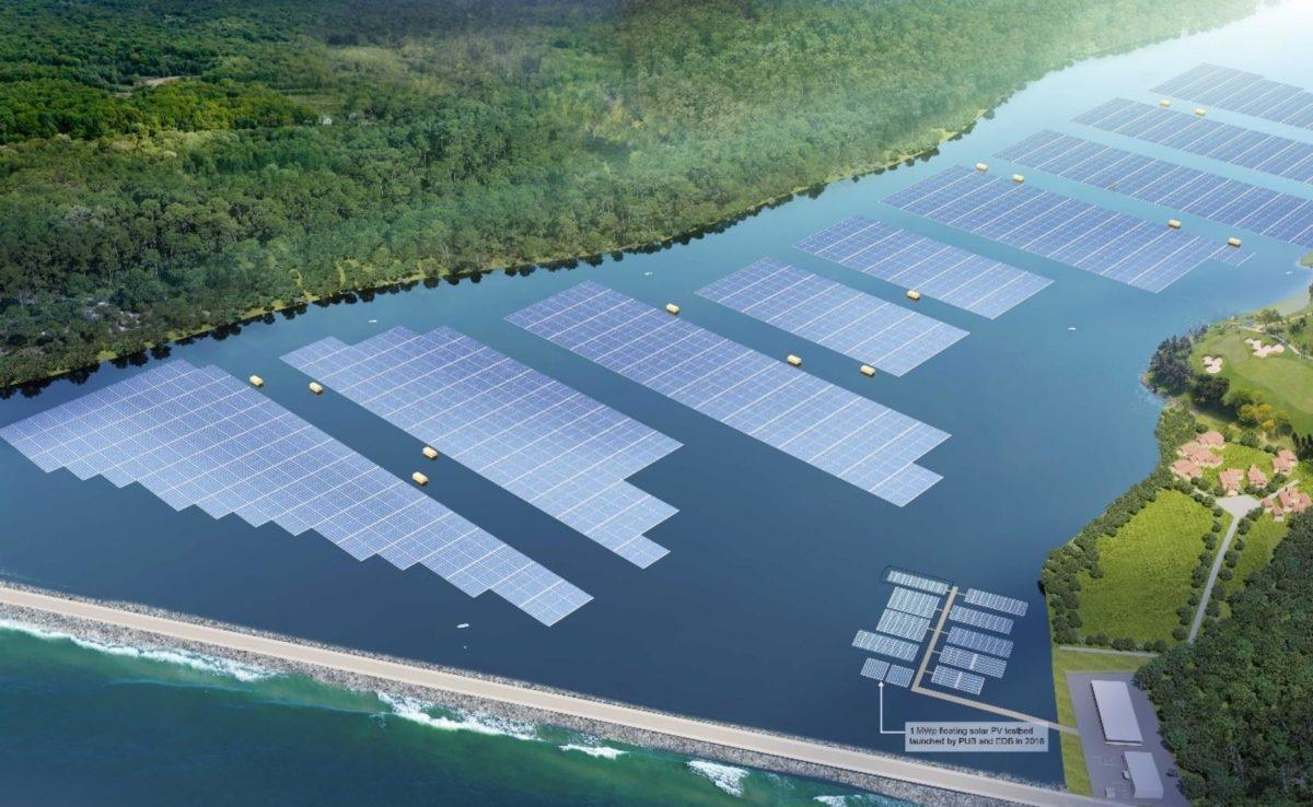 Singapore xây dựng trang trại năng lượng mặt trời nổi lớn nhất thế giới