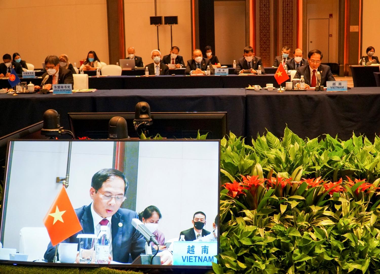 Hội nghị đặc biệt các Bộ trưởng Ngoại giao ASEAN-Trung Quốc  về khu vực và Biển Đông