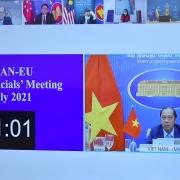 Cuộc họp Quan chức cao cấp ASEAN-EU về quan hệ đối tác chiến lược, an ninh khu vực và Biển Đông