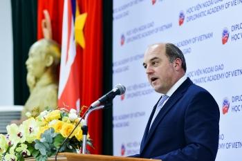 """Bộ trưởng Quốc phòng Anh phát biểu về chiến lược """"Ngả về Ấn Độ Dương - Thái Bình Dương"""""""