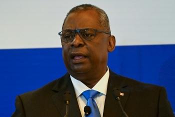 Bộ trưởng Quốc phòng Mỹ Austin thăm Singapore, bác bỏ yêu sách của Trung Quốc ở Biển Đông