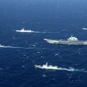 Nhóm Tàu Sân bay HMS Queen Elizabeth của Anh thực hiện tập trận tự do hàng hải ở Biển Đông