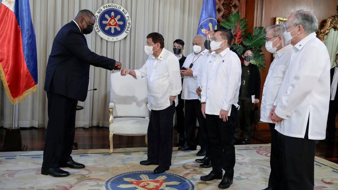 Bộ trưởng Quốc phòng Mỹ thăm Philippines góp phần tăng cường quan hệ Mỹ - Philippines