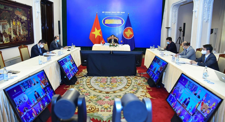 Hội nghị Bộ trưởng Ngoại giao ASEAN - Hoa Kỳ thúc đẩy quan hệ đối tác chiến lược, ủng hộ nỗ lực ASEAN ở Biển Đông
