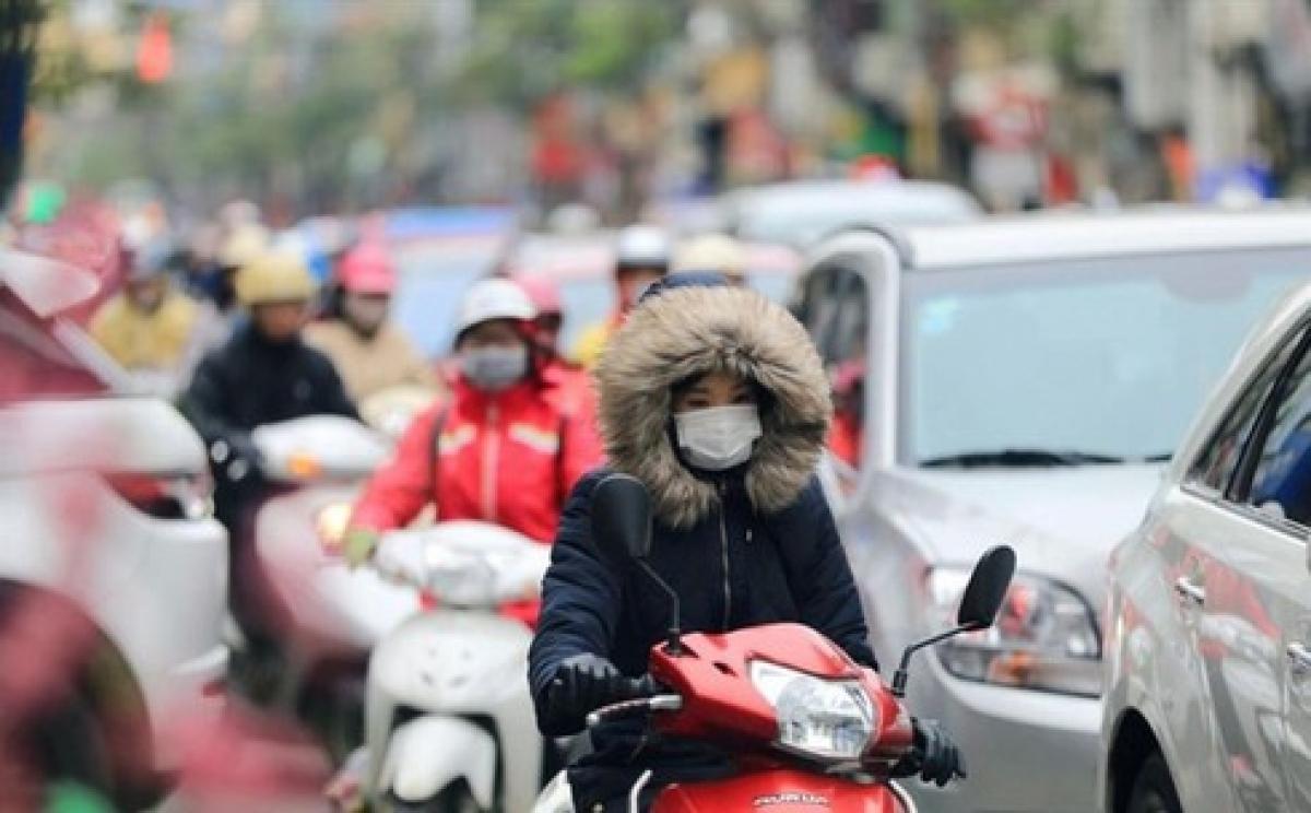 Không khí lạnh tràn về, nhiệt độ miền Bắc còn 14 độ